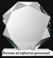 PREMIO AL ESFUERZO PERSONAL