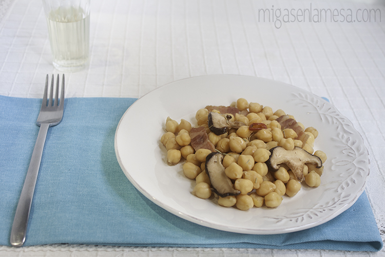 Garbanzos setas 1