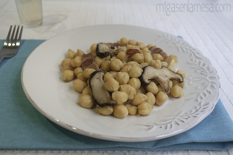 Garbanzos setas 2