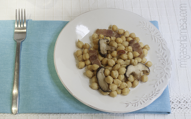 Garbanzos setas 4
