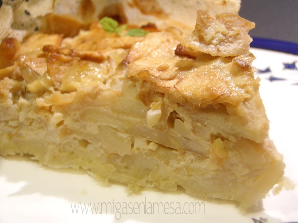 QUICHE DULCE DE MANZANA [Con marketing olfativo mediante]