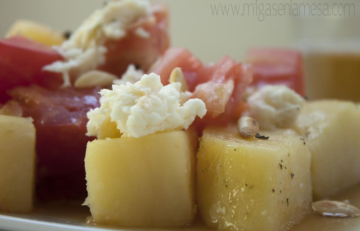 Ensalada fresca patata 4