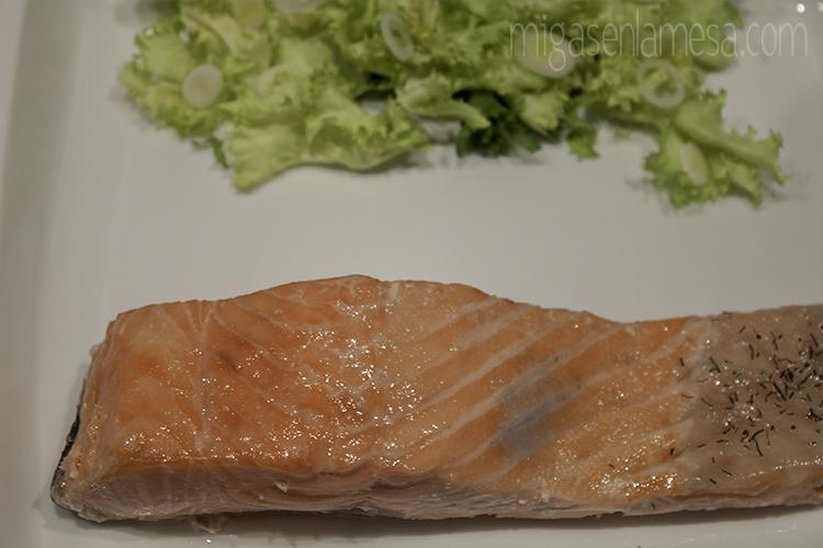 Salmon te verde  4
