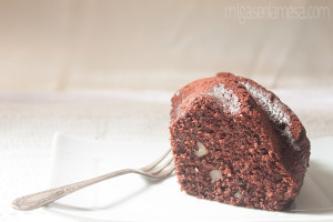 Chocolate zucchini bundt 4