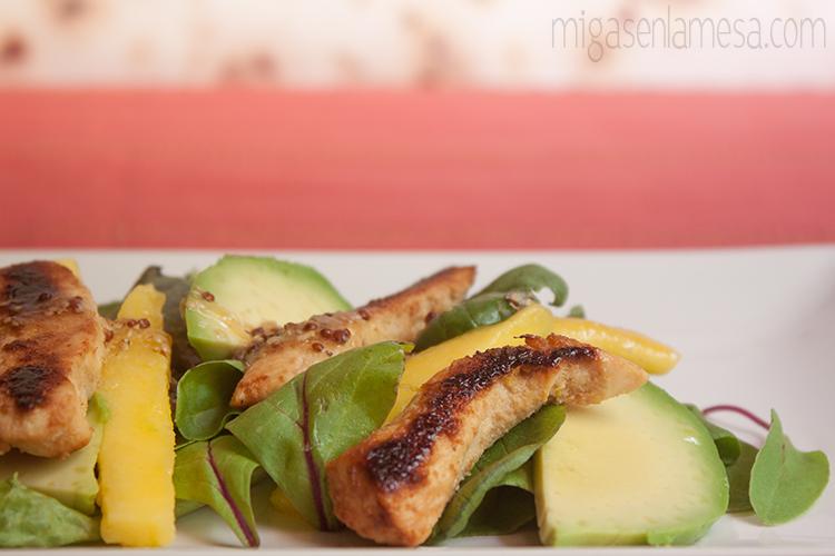 Ensalada citrica pollo 3