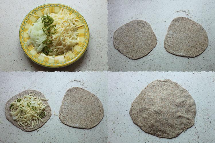 Paratha cheese PaP