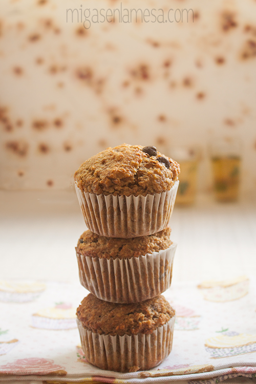 Muffins avena platano 1