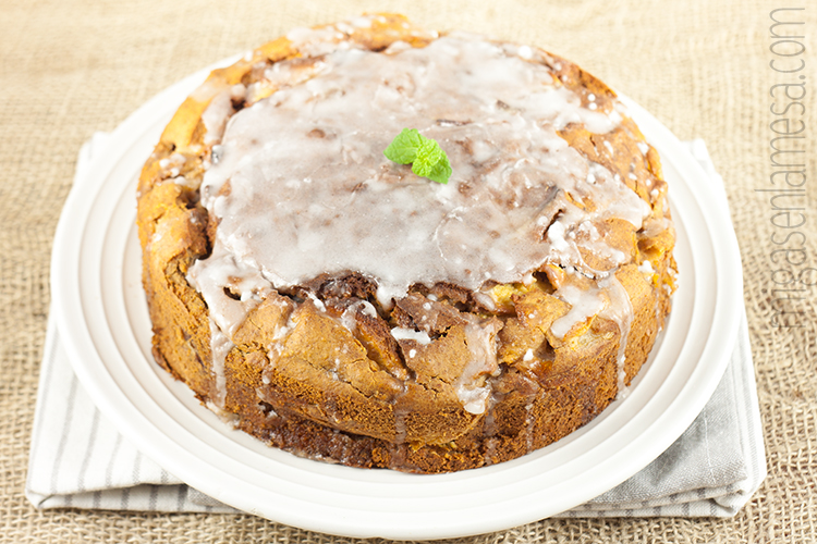 Coffee cake manzana 1