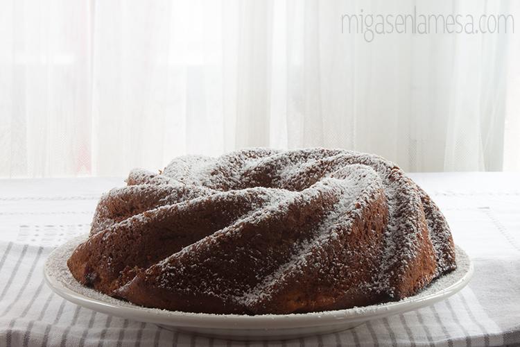 Bundt cake de manzana