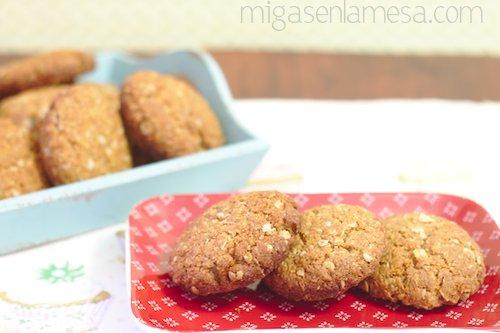 Anzac biscuits integrales