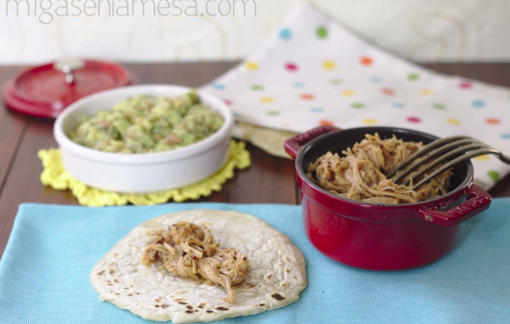 PULLED PORK EN CROCK POT [La barbacoa que no es barbacoa]