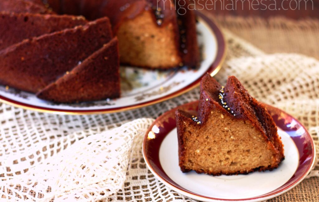 BUNDT CAKE ESPECIADO [#compraentubarrio]