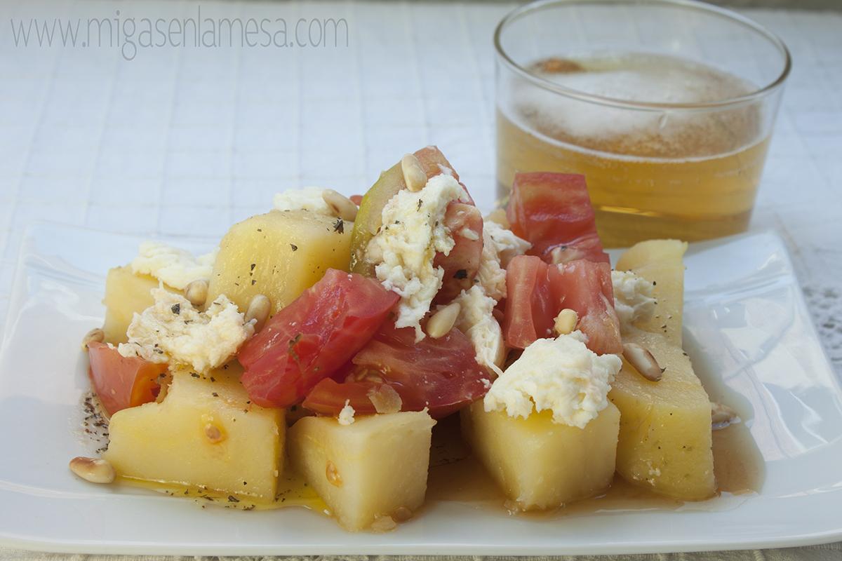 Ensalada fresca patata 1