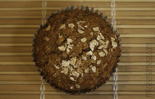 Muffins integrales avena 6