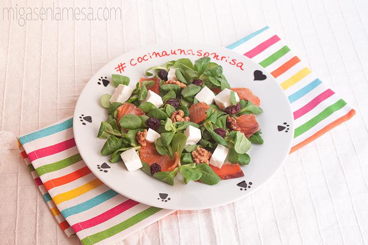 Ensalada gravlax 1p