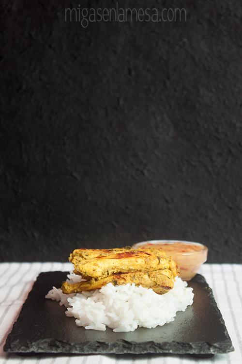 Pollo tandoori mango 3
