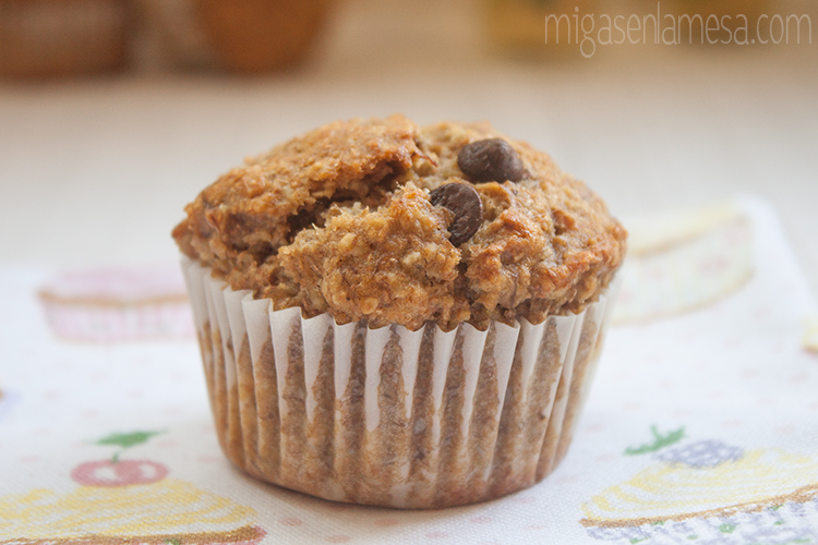 Muffins avena platano 3
