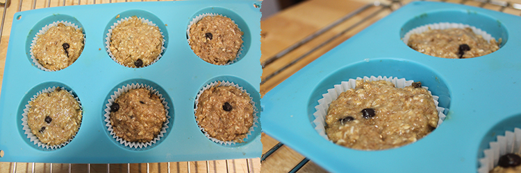 Muffins avena platano PaP 2