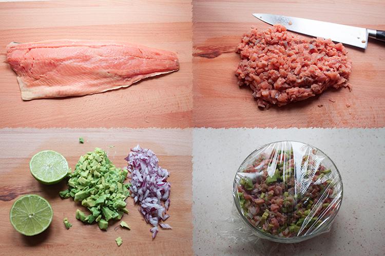 Ceviche salmon PaP