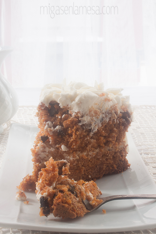 Well spiced carrot cake 2