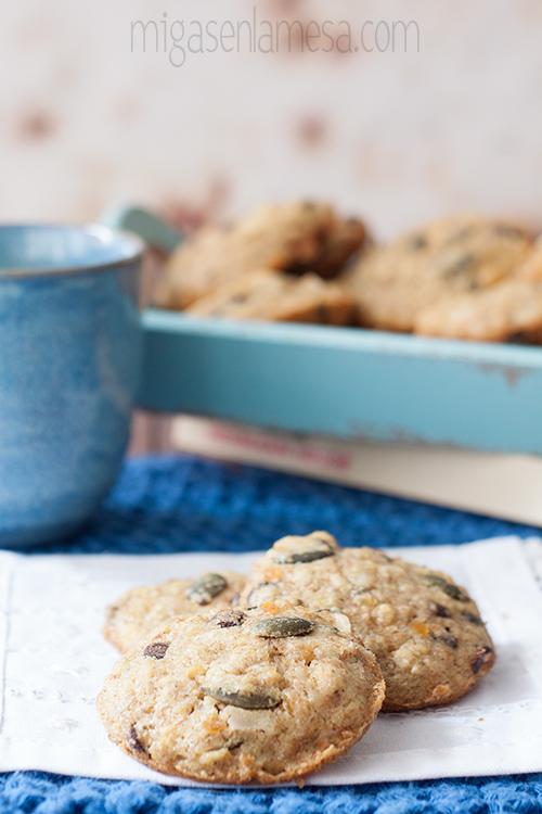 Cookies de lentejas 1