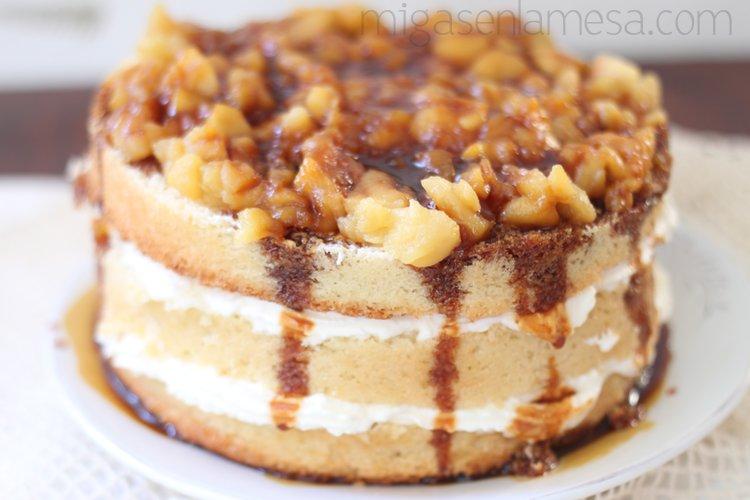 NUDE LAYER CAKE DE MANZANA Y CARAMELO SALADO [En pijama]