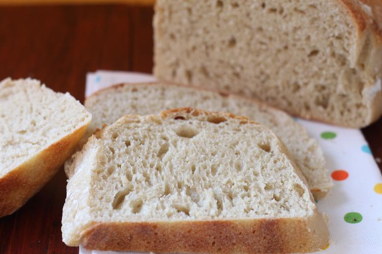 pan sin amasado