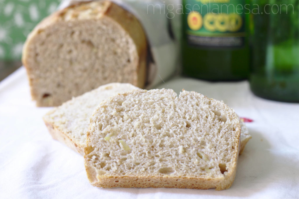 Pan de sidra y espelta