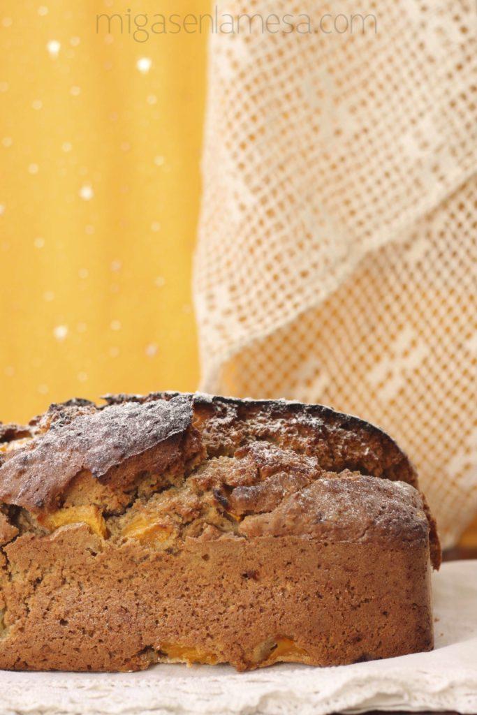 Pan dulce de melocotón