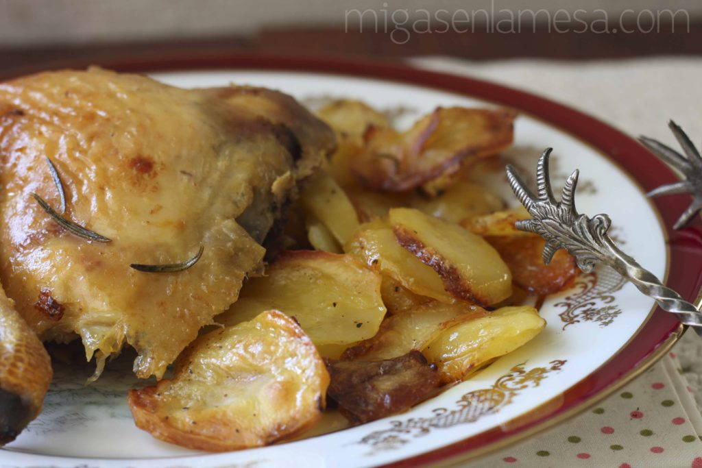 Pollo asado de Joël Robuchon